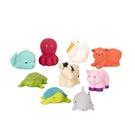 美國【B.Toys】烏龜與朋友們(9pcs)BT2528Z[衛立兒生活館]