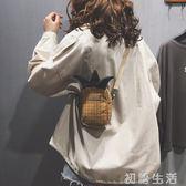 搞怪小包包上新搞怪小包包新款冬可愛萌少女小挎包時尚chic單肩斜挎布包 初語生活