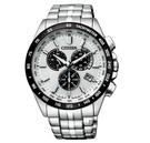 CITIZEN/星辰 光動能電波錶 三眼計時手錶(CB5874-90A) /43mm