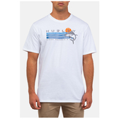 Hurley M PRM AHI SS WHITE T恤-Premium Fit-(白)