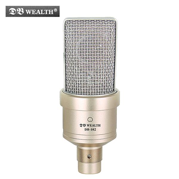 ★集樂城樂器★WEALTH DB-102 心型指向性電容式錄音麥克風