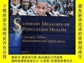 二手書博民逛書店Summary罕見Measures of Population