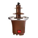 【台灣現貨】110V 新品家用巧克力噴泉機 自動融化火鍋熔漿機 帶加熱融化塔自制巧克力漿