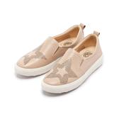 【Fair Lady】 Soft Power 軟實力 星星造型樂福厚底休閒鞋 蜜粉