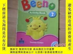 二手書博民逛書店BEEHO罕見Activity B00k2【附光盤】Y26008