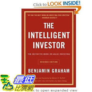 【103玉山網】 2014 美國銷書榜單 The Intelligent Investor: The Definitive Book on Value Investing.  $783