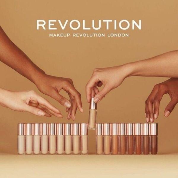 ●魅力十足● 英國 Makeup Revolution 遮瑕液 多色可選 遮瑕膏