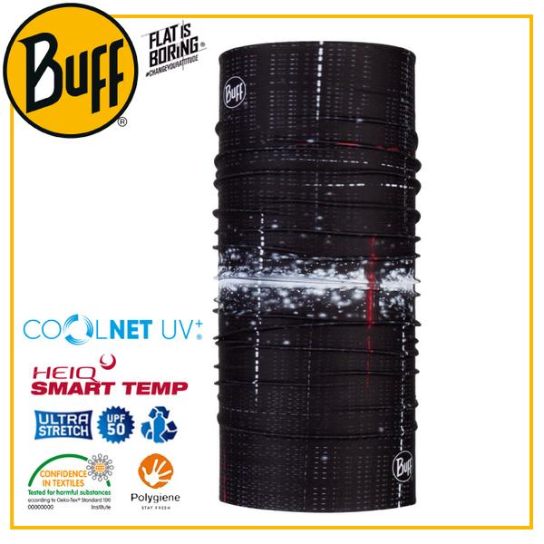 【BUFF 西班牙 Coolnet 抗UV頭巾 輕盈腳步】119349/圍脖/帽子/口罩/圍巾/吸溼排汗