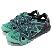 Merrell 戶外鞋 Tetrex Crest Wrap 水陸鞋 越野 慢跑 透氣 運動鞋 藍 綠 女鞋【PUMP306】 ML12848