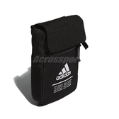 adidas 斜背包 Classic Organizer Bag 黑 白 男女款 小包包 運動休閒 【ACS】 FM6874
