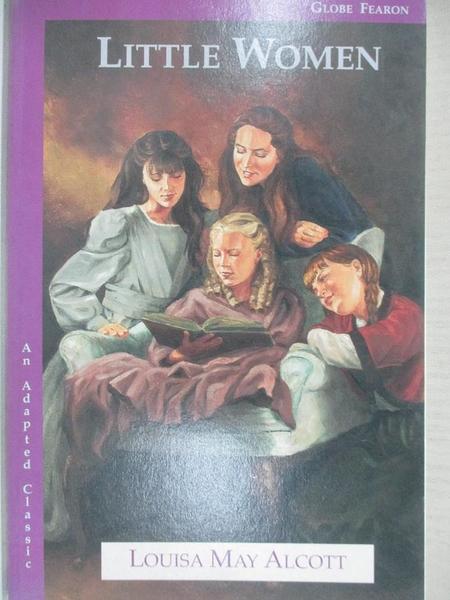 【書寶二手書T1/少年童書_A3X】Little Women: An Adapted Classic_Alcott, Louisa May