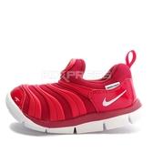 Nike Dynamo Free TD [343938-621] 小童鞋 慢跑 運動 休閒 舒適 透氣 毛毛蟲 紅白