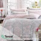 【BEST寢飾】天絲床包兩用被四件式 特大6x7尺 狄安娜 100%頂級天絲 萊賽爾 附正天絲吊牌