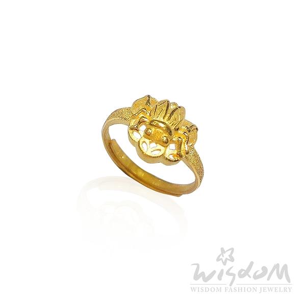 威世登 長贏黃金戒指 約0.94~0.96錢 GA01219 -FXX-FIX