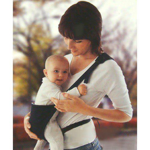 【奇買親子購物網】Baby-Lucky 背寶攜帶式嬰兒揹帶-深藍