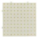 【台灣製USL遊思樂】多向連接方塊 專用操作底板 / 大萬用板(白色,1pcs)