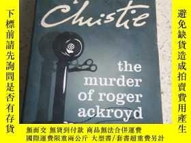 二手書博民逛書店the罕見murder of roger ackroydY212