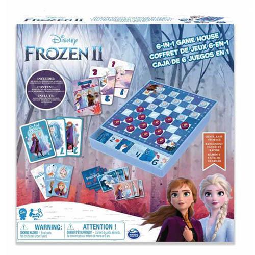 《 Disney 迪士尼 》冰雪奇緣2 - 歡樂桌遊屋╭★ JOYBUS玩具百貨
