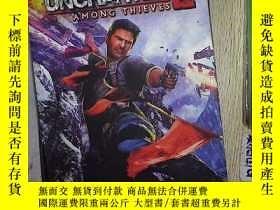 二手書博民逛書店The罕見Art of Uncharted 2: Among T