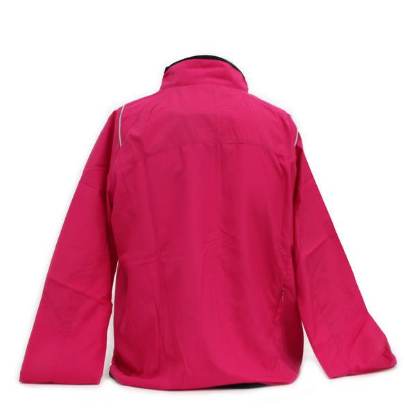 【Mizuno美津濃】女款夜跑系列 360 度反光設計路跑風衣  - 莓紅色(J2TC678365)全方位跑步概念館