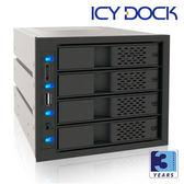 [富廉網] ICY DOCK MB974SP-B 3轉4抽取式硬碟模組