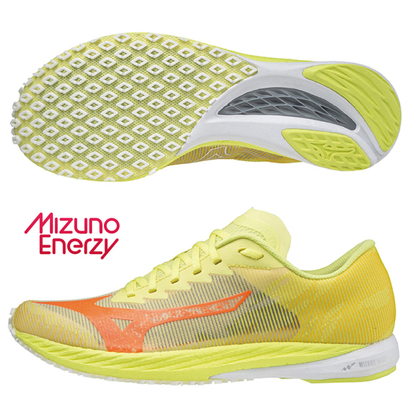 MIZUNO WAVE DUEL 3 男鞋 慢跑 寬楦 U4ic G3大底 避震 黃【運動世界】U1GD217081