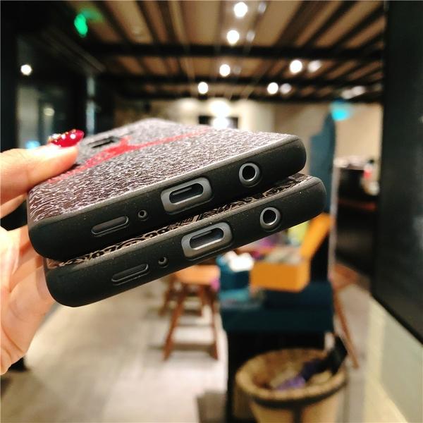 【萌萌噠】三星 Galaxy S8 S9 plus  空中飛人公牛喬丹 彩繪浮雕保護殼 全包矽膠套 手機殼 手機套