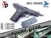 【7D紙模型】仿真 1:1 五四式 54式手槍 原創紙模型 不可發射 美芭