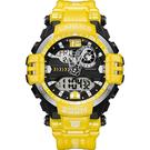 Transformers 變形金剛 聯名限量潮流雙顯腕錶(大黃蜂)LM-TF004.BB61G.211.6GB