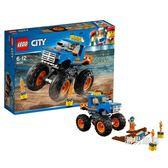 樂高積木樂高城市組60180巨輪越野車LEGOCity積木玩具xw