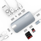Dootoper【日本代購】USB - C 集線器USB 3.0/ USB 2.0/ HDMI / SD 卡/ TF 讀卡器, 灰色