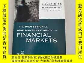 二手書博民逛書店The罕見Professional Risk Managers'Guide to Financial Market