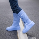 注塑硅膠防水防雨鞋套 雨天防滑加厚耐磨底...