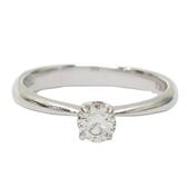JEWELRY 0.20克拉鑽石18K白金戒指   【BRAND OFF】
