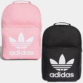 ★現貨在庫★ Adidas ORIGINALS TREFOIL  背包 後背包 休閒 三葉草 黑 / 粉 【運動世界】 DJ2170 / DJ2173