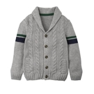 mothercare 灰色學院風針織衫-學院風格(M0C7400)9A、10A