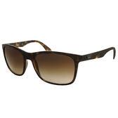 台灣原廠公司貨-【Ray-Ban 雷朋】超輕!新款!4232F-710/13 -亞洲版太陽眼鏡(#琥珀框-棕色鏡面)