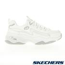 SKECHERS D'LITES 4.0 女鞋 老爹 閃電 異材質 輕量 吸震 穩定 純白【運動世界】149491WHT