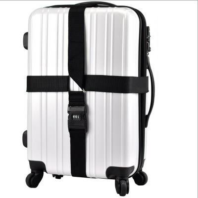 行李箱綁帶 十字形 密碼鎖 行李箱 綁箱帶 打包帶 保險帶 行李束帶 綁帶 TSA海關鎖綁帶 8024