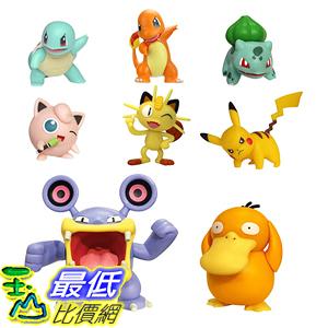 [8美國直購] PoKéMoN Battle Action Figure Multi 8 Pack - Comes with 2吋 Pikachu, 2吋 Bulbasaur, 2吋 Squirtle B07HYWQDSP
