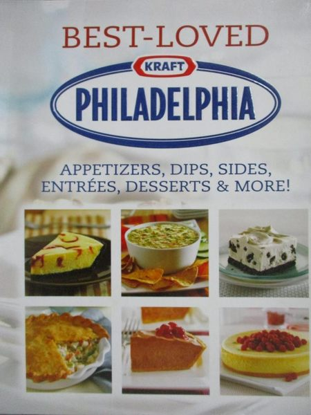 【書寶二手書T5/餐飲_QHS】Best-Loved Kraft Philadelphia Recipes_Public
