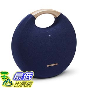 [7美國直購] 音箱 Harman Kardon Onyx Studio 5 Bluetooth Wireless Speaker (Onyx5) (Blue) B07HJD7HB3