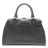 MARC JACOBS 黑色牛皮手提包 醫生包 handbag 【二手名牌BRAND OFF】