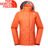 【The North Face 女款 DRYVENT防水外套《橙》】2U8UUCB/衝鋒衣/防水透氣★滿額送