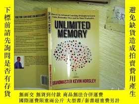二手書博民逛書店Unlimited罕見Memory:How to Use Adv
