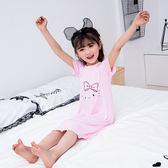 夏季1-8歲女童睡衣中大童小女孩睡裙 YI717 【123休閒館】