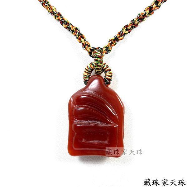 《藏珠家天珠》十二星座--獅子座天珠項鍊