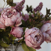 [618好康又一發]客廳裝飾花仿真花假花富貴大束包芯牡丹