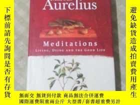 二手書博民逛書店Marcus罕見Aurelius: Meditations LIVING DYING AND THE GOOD L