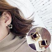 設計感耳釘耳環女氣質韓國個性高級感耳飾品